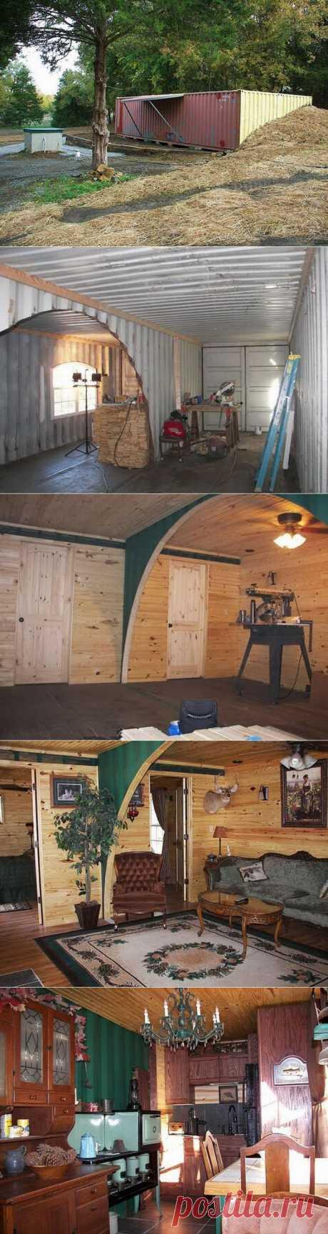 (+1) - Дом в контейнерах | УЮТНЫЙ ДОМ | советы