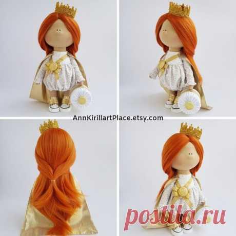 Princess Doll Queen Doll Rag Doll Fabric Doll Decor Doll | Etsy