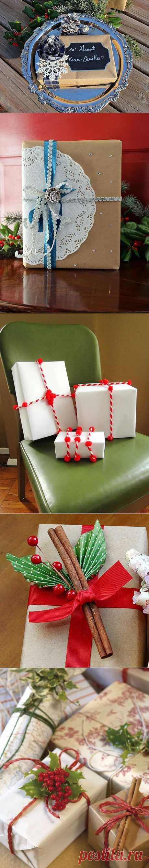 Идеи упаковки подарков / Домоседы