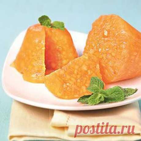 Желе из хурмы, десерт. Пошаговый рецепт с фото на Gastronom.ru