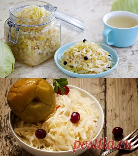 Лучшие рецепты квашеной капусты
