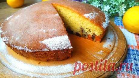 Сказочный пирог с тыквой, орехами и сухофруктами