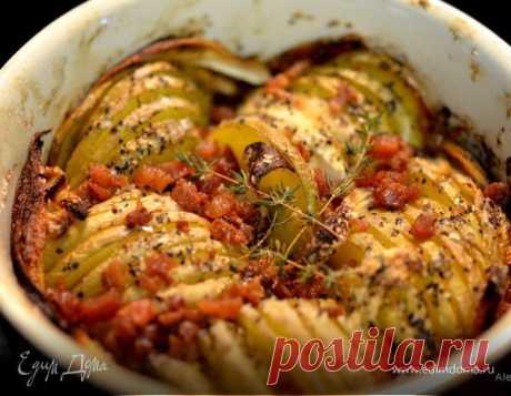 Запеченный хрустящий картофель рецепт 👌 с фото пошаговый | Едим Дома кулинарные рецепты от Юлии Высоцкой
