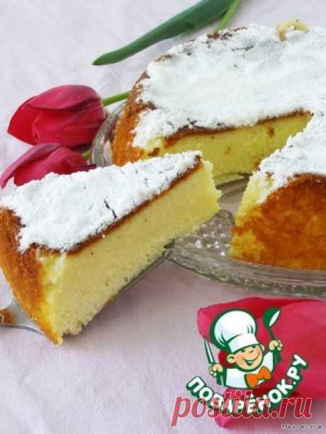 Творожно-манный пирог в мультиварке - кулинарный рецепт