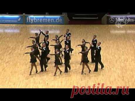 DUET Perm, RUS | 2014 World Formation Latin | DanceSport Total