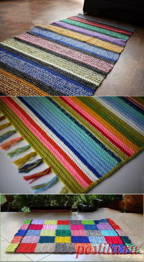 ВЯЗАНИЕ.Идеи ковриков
