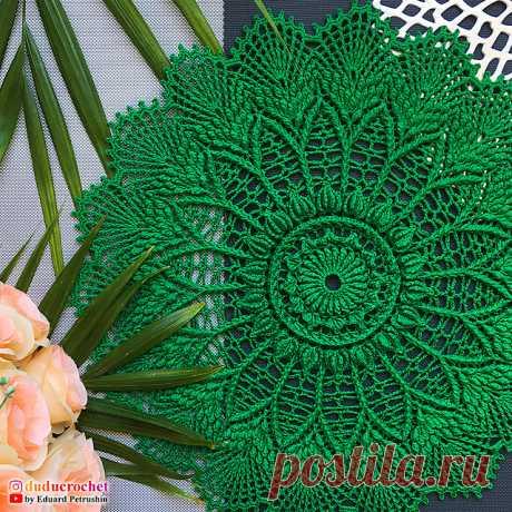 Ravelry: Bree Doily pattern by Eduard Petrushin