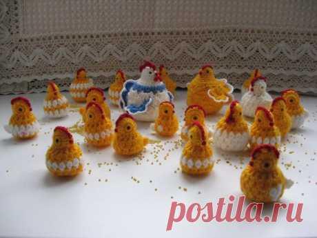 Обещанный мастер-класс цыпляток-сувениров к Пасхе.