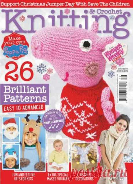 Woman's Weekly Knitting & Crochet December 2018