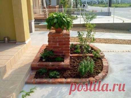 Шикарная идея для сада. А вам нравится?