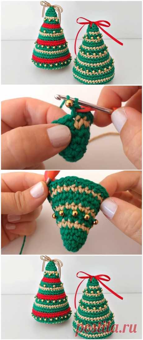 Learn To Crochet Christmas Trees - ilove-crochet