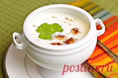 Суп из цветной капусты - пошаговый кулинарный рецепт на Повар.ру