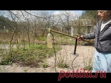Простой,мощный и халявный,распылитель для огорода