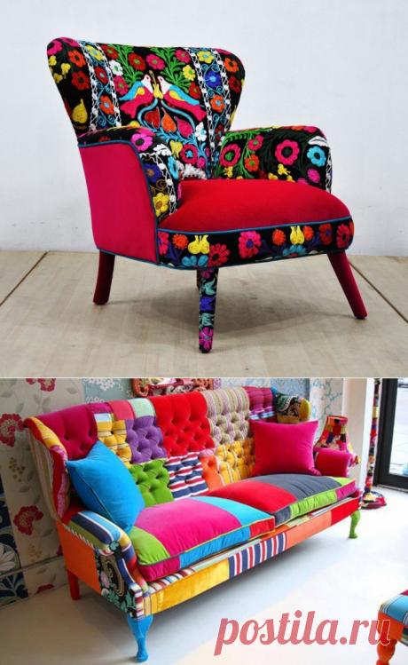 Обновление старой мебели | Роскошь и уют