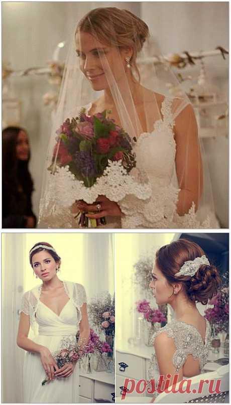 Красивые свадебные платья Анны Кэмпбелл | Оригинальные идеи для творчества