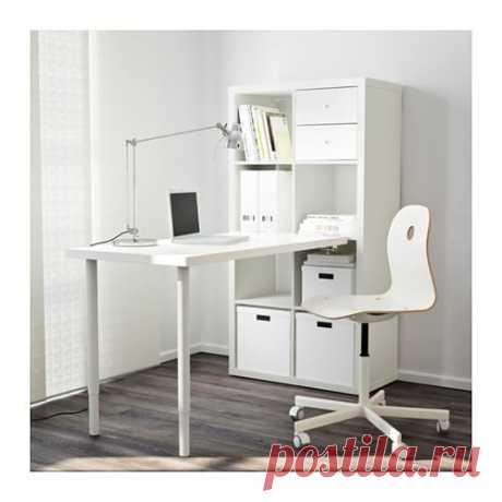 КАЛЛАКС Стол, комбинация - белый - IKEA