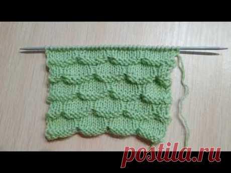Стильный  узор для кардиганов, свитеров, носков