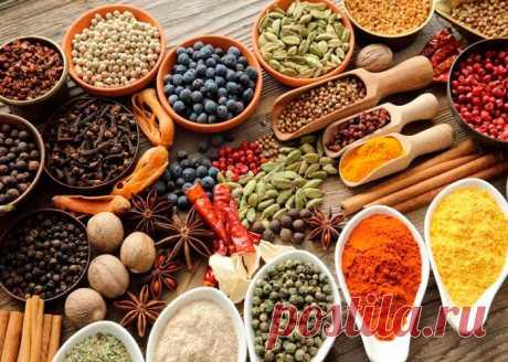 Кулинария>Очень нужная и полезная памятка по специям: что куда добавлять!