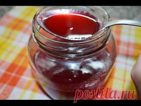 Калина с медом от кашля  Как приготовить