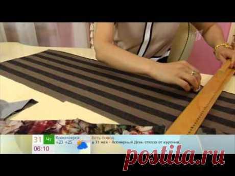 Блуза с баской - YouTube