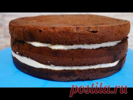 Торт СНИКЕРС. Торт на день рождения .Рецепт ШОКОЛАДНОГО БИСКВИТА, КАРАМЕЛИ и КРЕМ ЧИЗА