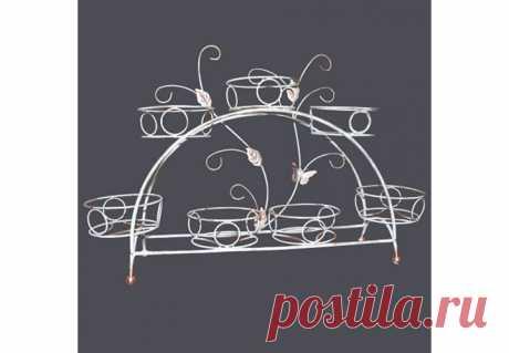 ПОДСТАВКА ДЛЯ ЦВЕТОВ ИЗ МЕТАЛЛА (14-917) купить в интернет-магазине Формула Дачи по выгодной цене с доставкой – Москва