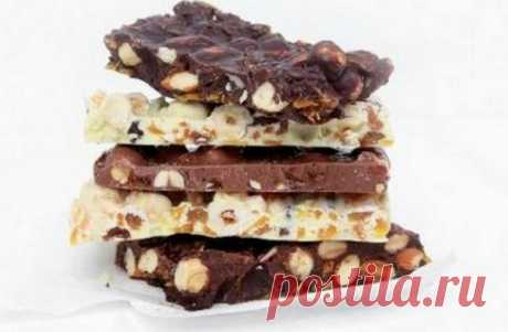 Шоколад в домашних условиях   Очень вкусно