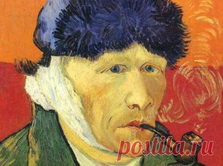 Винсент Ван Гог- автопортрет