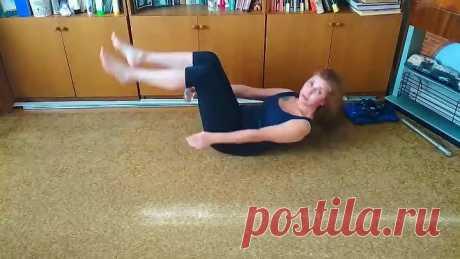 Как убрать большой живот при помощи простых упражнений!