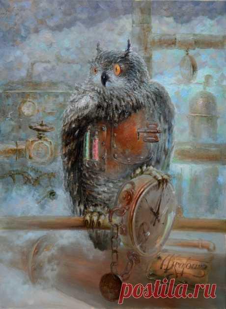 киевский художник Дмитрий Крутоус , Dmitry Krutous