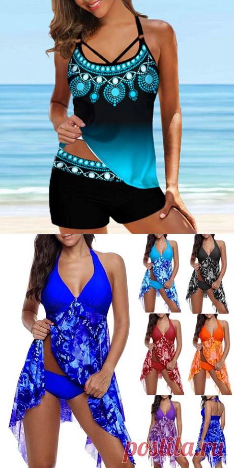 Женские сексуальные танкини пляжное платье для девочек синего цвета с низким вырезом на спине, 2 до х купальник с звездом модаа купальники спагетти ремень женский купальный костюм, одежда для купания для размера плюс 8XL