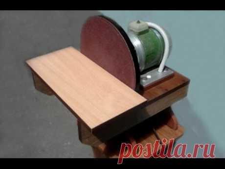 Self-made grinding and emery machine
