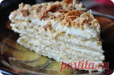 "Торт почти ""Наполеон""- очень вредно, но безумно вкусно и просто"