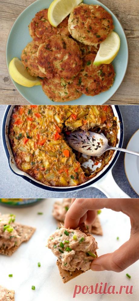 3 простых блюда из консервированного тунца