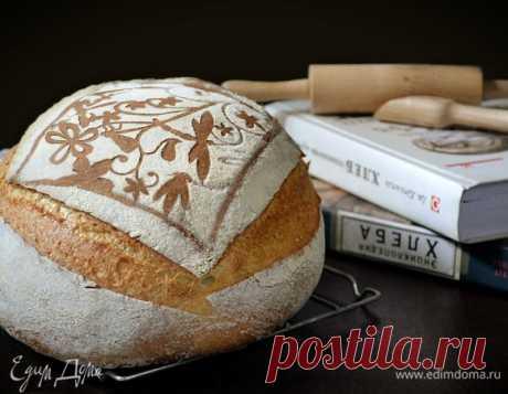 Кукурузный хлеб Джеффри Хамельмана. Ингредиенты: пшеничная мука, вода, дрожжи свежие