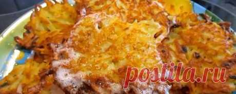 Драники с сыром и картошкой на сковороде: рецепт с фото и видео пошагово