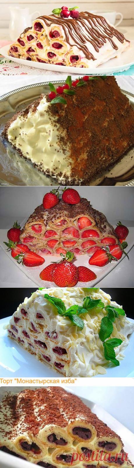 Торт ☆Монастырская изба☆ - рецепт