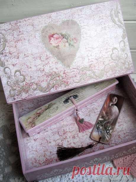 Шкатулка бюро с пеналом – купить в интернет-магазине на Ярмарке Мастеров с доставкой - HYGWXRU | Москва