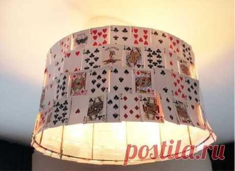 Дизайнерские светильники своими руками