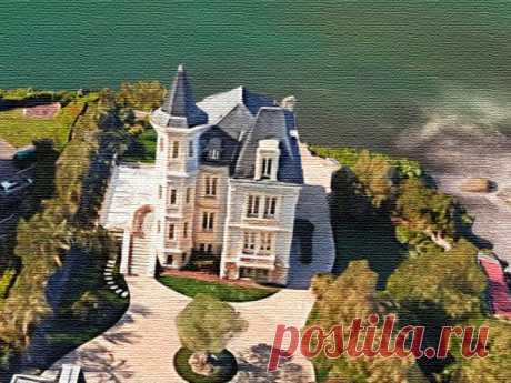 Французская вилла дочери Путина: дочь, президент, расположение, побережье, реконструкция, фасад, ландшафт Французская вилла дочери Путина. Биарриц – курорт для олигархов. Роскошная вилла на побережье. Обустройство элитного особняка.