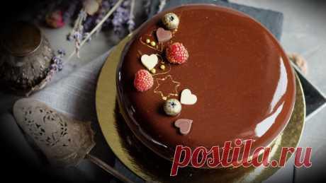 Муссовый торт с зеркальной глазурью – 12 рецептов