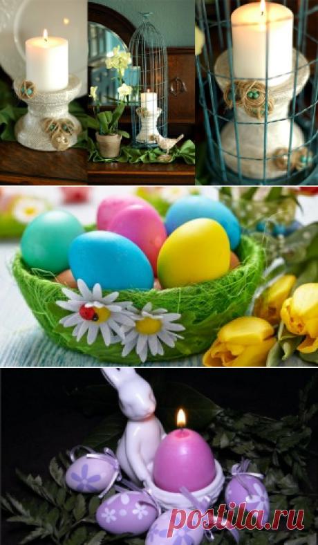 Пасхальный декор | Блог о праздниках