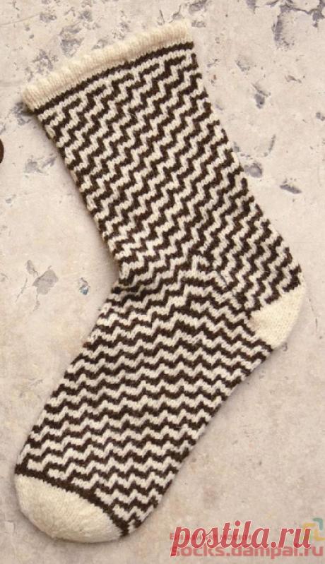 Вязаные носки «Concha» | ВЯЗАНЫЕ НОСКИ