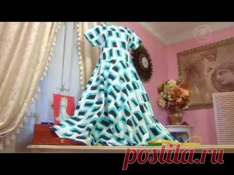 Ольга Никишичева Платье из ситца