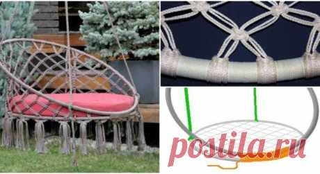 Из шнура и труб можно сделать полезную вещицу для сада — Мир интересного