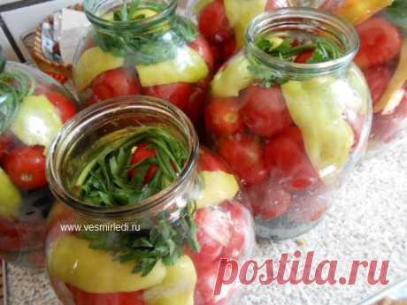 Консервирование сладких помидор без уксуса и стерилизации