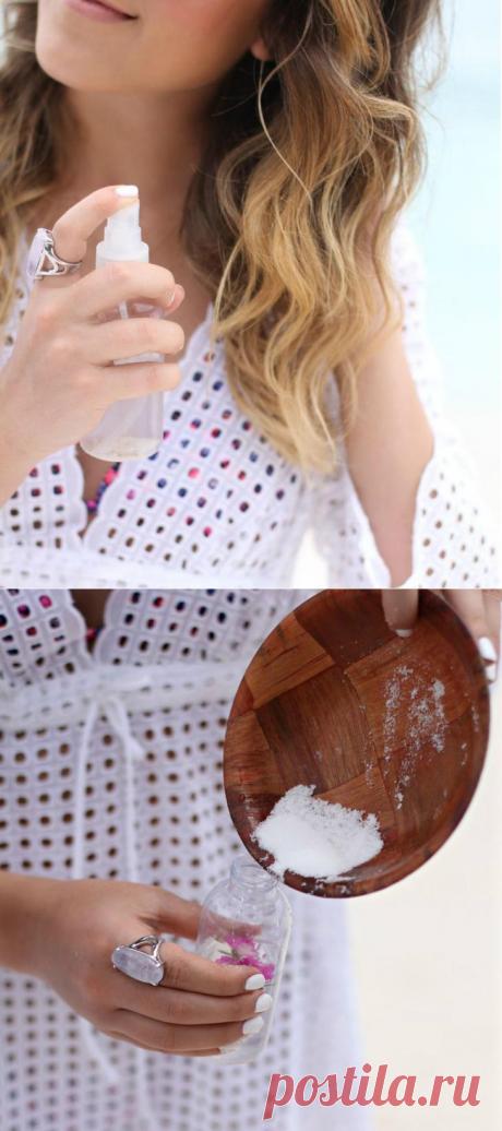 Как сделать спрей для укладки волос в домашних условиях?