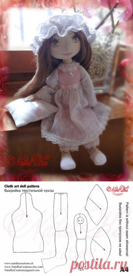 Текстильные куклы.Мастер-классы, идеи
