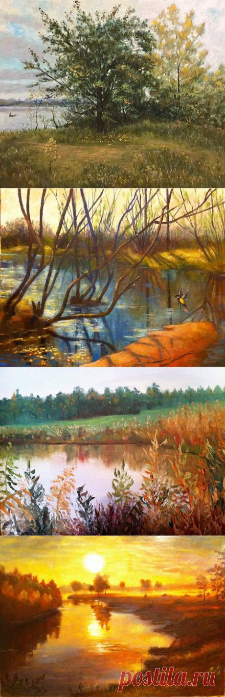 Пейзажи. Творчество Юрия Пискунова.(Нижний Новгород) 2 часть.