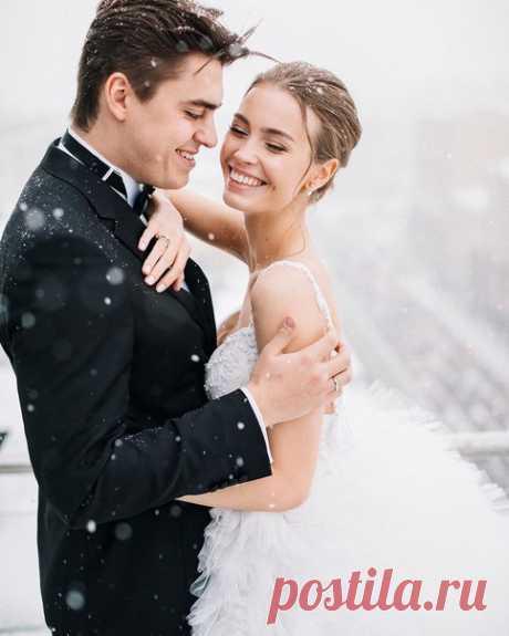 Решились бы на зимнюю свадьбу? #weddywood_опрос
